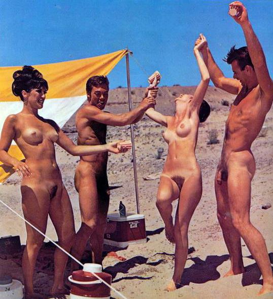Бесплатные ретро фото нудистов